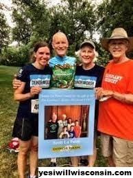 Seorang Pria Wisconsin Bersepeda Lintas Alam Untuk Meningkatkan Kesadaran Akan Donasi Organ Hidup